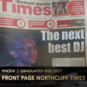 Phodii Rise Academy DJ Perform Music Production lessons Johannesburg Durban Cape Town stage