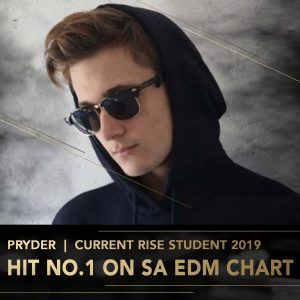 Pryder Rise Academy DJ Perform Music Production lessons Johannesburg Durban Cape Town stage