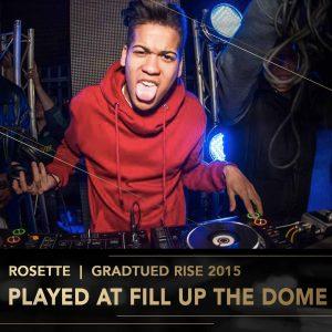 Rosette Rise Academy DJ Perform Music Production lessons Johannesburg Durban Cape Town stage