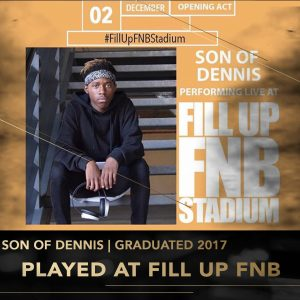Tennyson Rise Academy DJ Perform Music Production lessons Johannesburg Durban Cape Town stage