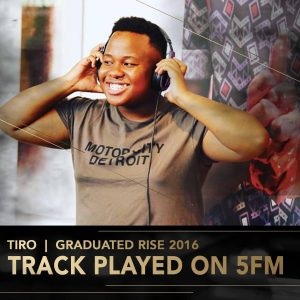 Tiro Rise Academy DJ Perform Music Production lessons Johannesburg Durban Cape Town stage