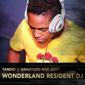 Yando Rise Academy DJ Perform Music Production lessons Johannesburg Durban Cape Town stage